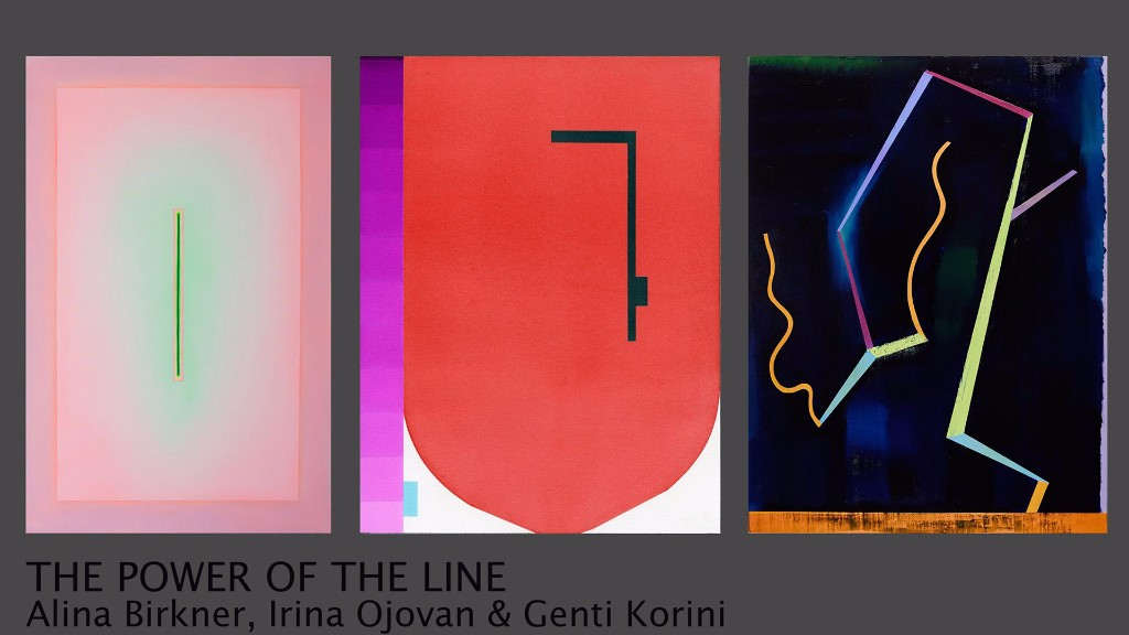 "Alina Birkner, Irina Ojovan și Genti Korini ""Puterea Liniei"" @ Galeria Jecza, Timișoara"