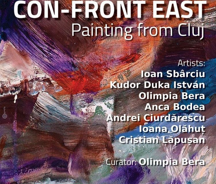 """""""CON-FRONT EAST"""" / Painting from Cluj-Napoca @ Gallery RIVAA, New York"""