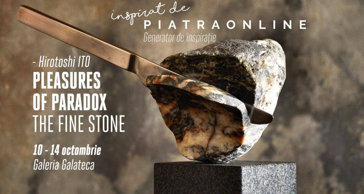 Artistul japonez Hirotoshi Ito prezintă expoziția Pleasures of Paradox. The Fine Stone la Galeria Galateca