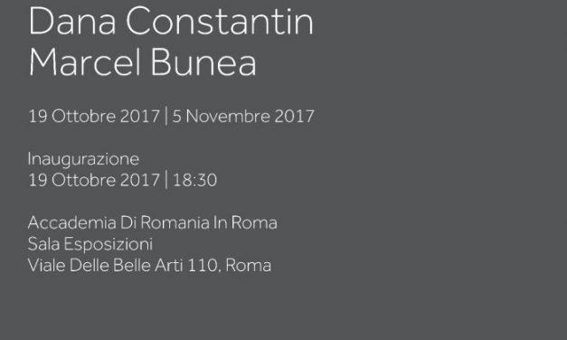 Expoziția de pictură DOI⑦ a artiștilor Dana Constantin și Marcel Bunea la Roma