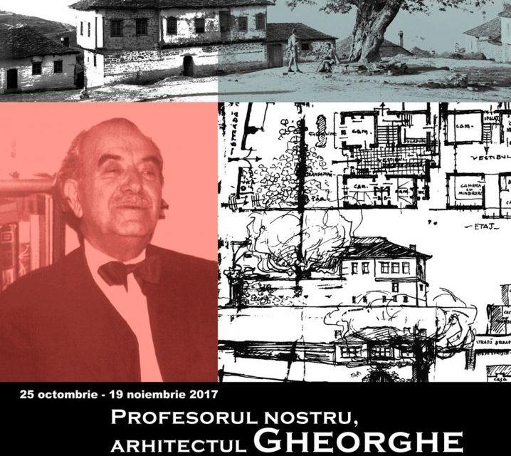 """Expoziția """"Profesorul nostru, arhitectul Gheorghe Simotta, aromân din Vlaho-Clisura"""" @ Muzeul Național al Țăranului Român"""