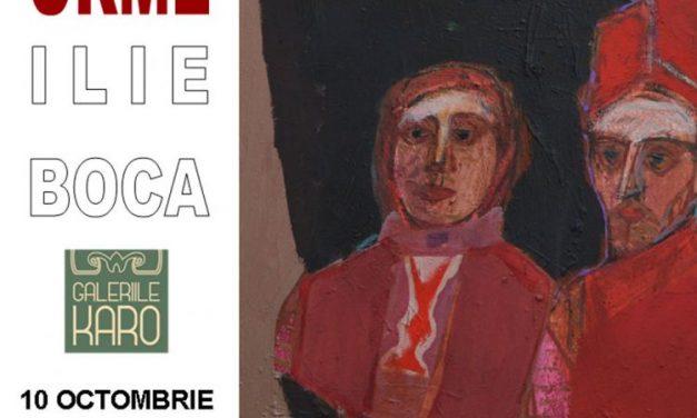 """Ilie Boca – expoziția aniversară """"Urme"""" @ Elite Art Gallery, București"""