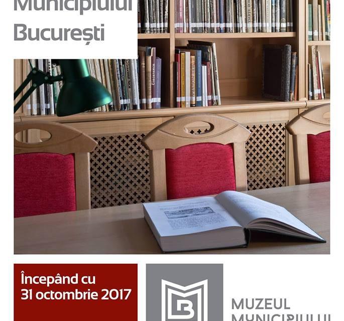 Inaugurarea Bibliotecii Muzeului Municipiului București