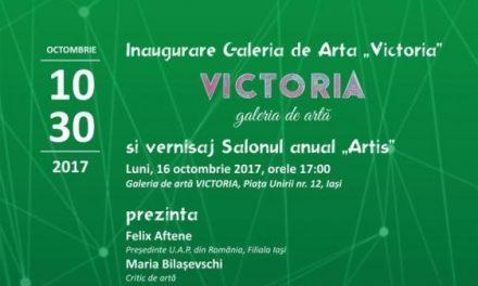 """Inaugurarea Galeriei de artă Victoria și vernisaj Salonul Anual de Artă """"Artis"""" @ Iași"""