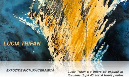 Lucia Trifan expoziție de pictură, ceramică @ Galeria Romană, București
