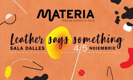 MATERIA 3 – târgul de design în piele devine eveniment european