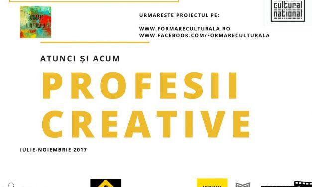 Profesii creative – curatoriat, Cosmin Nasui @ Formare Culturală