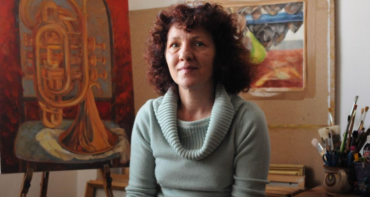 Adalgiza Harabagiu – 100 DE ARTIȘTI CONTEMPORANI ROMÂNI