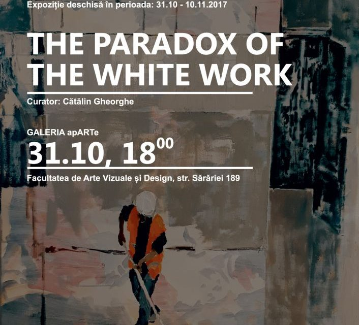 "Sarah Daria Muscalu""Paradoxul muncii albe"" @ Vector Studio – Galeria apARTe, Iași"