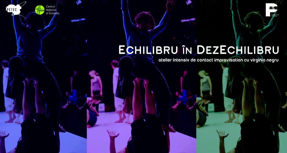 Contact Improvisation pentru comunitățile performerilor din România