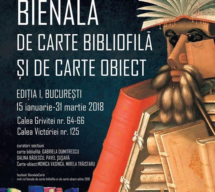 CALL for Artists -Bienala de Carte Bibliofilă și de Carte-Obiect @ Muzeul Național al Literaturii Române