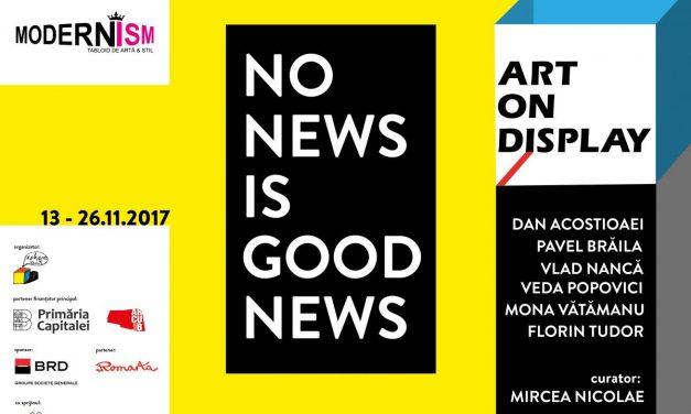 ART on DISPLAY revine în vitrinele din București între 13 și 26 noiembrie 2017
