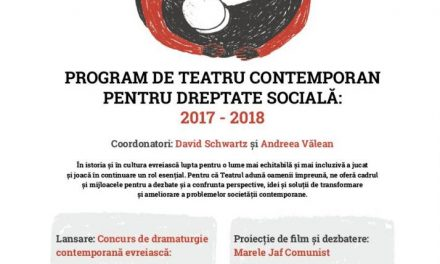 """Lansare program """"TICUN OLAM"""" și Proiecție de film """"MARELE JAF COMUNIST"""" @ Teatrul Evreiesc de Stat"""