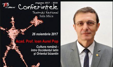 Acad. Ioan-Aurel Pop vine la Conferințele TNB