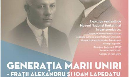 Expoziția: Generația Marii Uniri – Alexandru și Ioan Lapedatu @ Muzeul Național Brukenthal