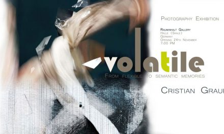 "Expoziție de fotografie Cristian Graure ""VOLATILE. From flexible to semantic memories"" @ Galeria Rauminhalt din Halle, Germania"