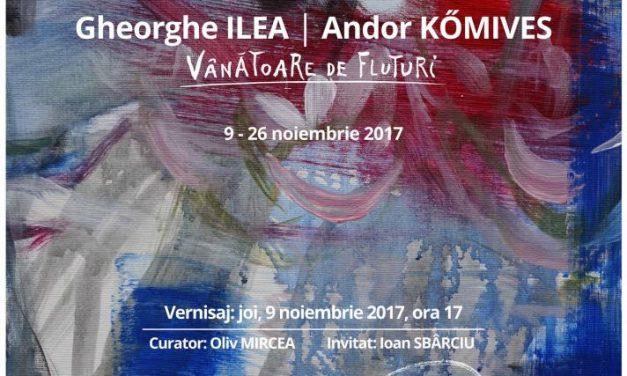 """Gheorghe Ilea și Andor Komives """"Vânătoare de fluturi"""" @ Galeria Centrului de Cultură și Artă al Județului Sălaj"""