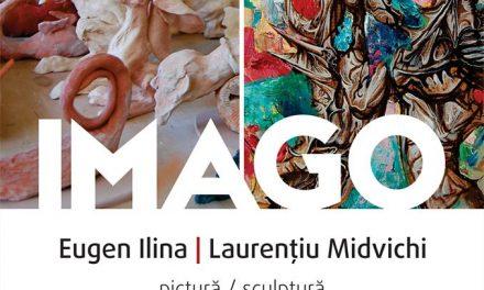 IMAGO – o nouă expoziție a artiștilor vizuali Laurențiu Midvichi și Eugen Ilina @ Galeria Artelor din Cercului Militar Național