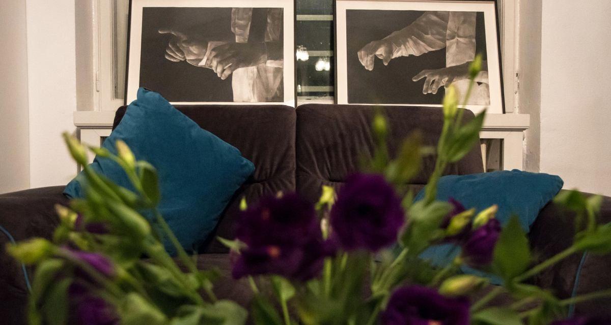 """Adrian Ghenie, Mircea Suciu, Mircea Cantor, Șerban Savu, Ecaterina Vrana, Razvan Boar în expoziția """"Morphogenetic Fields"""" @ Galeria de artă Kaleidoscope, București"""
