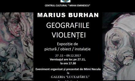 Marius Burhan, Geografiile violenței @ Galeria Luceafărul, București