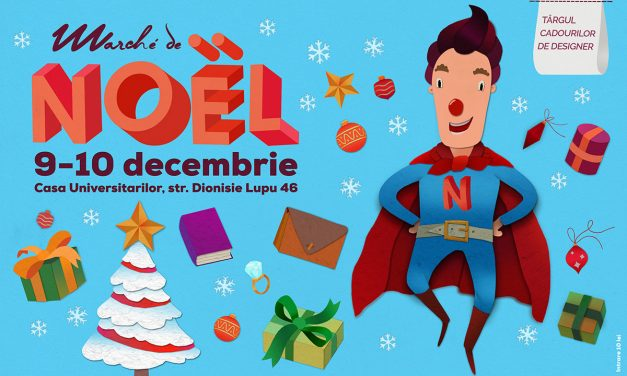 NOËL NOUă intră în scenă! He's a superhero, he's cool and he is très chic!