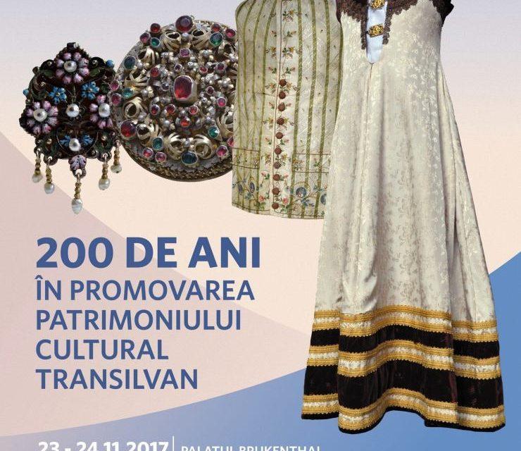 Simpozionul științific: 200 de ani în promovarea patrimoniului cultural transilvan @ Palatul Brukenthal