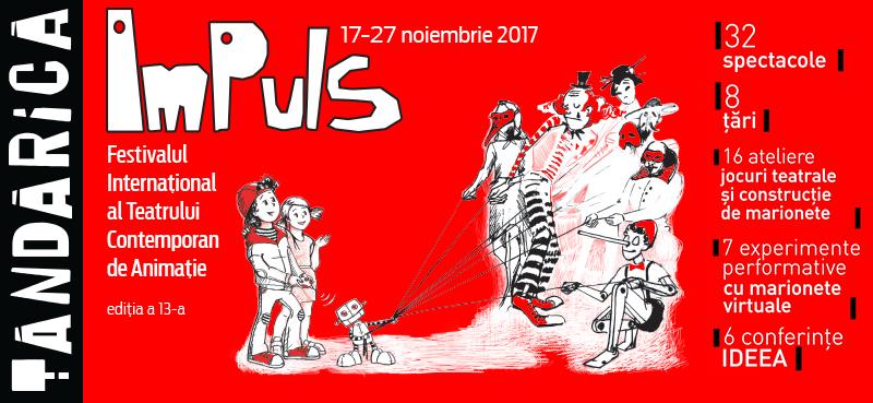 Începe Festivalul Internațional al Teatrului Contemporan de Animație ImPuls