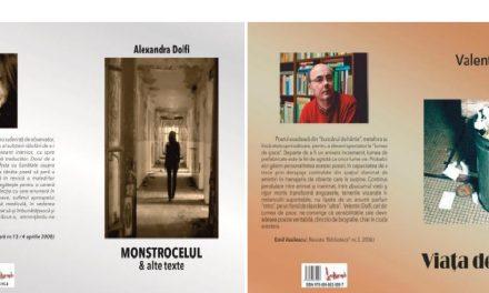 Dublă lansare de carte Alexandra şi Valentin DOLFI la Râmnicu Vâlcea