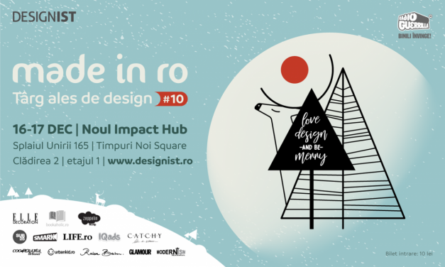 Made in RO – Târg ales de design, ediția #10