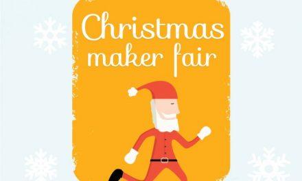 Christmas Maker Fair va avea loc între 15 și 17 decembrie la Industria Bumbacului, București