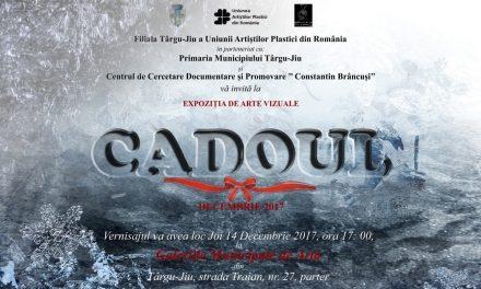 """Expoziţia """"Cadoul"""" şi decernarea Premiilor Uniunii Artiștilor Plastici din România, Filiala Târgu Jiu, 2017"""