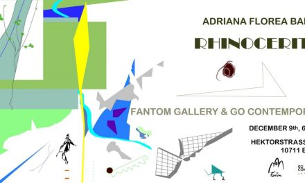 """Expoziția Adrianei Florea Baloiu """"Rhinoceritis"""" @ Galerie Fantom, Berlin"""
