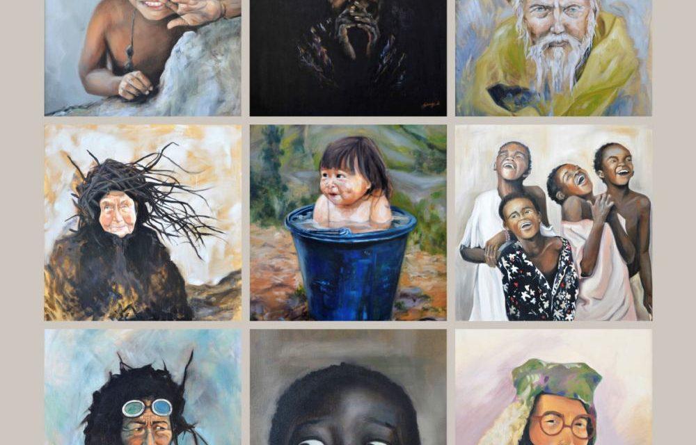 Tinerii pictori expun in holul Hotelului InterContinental