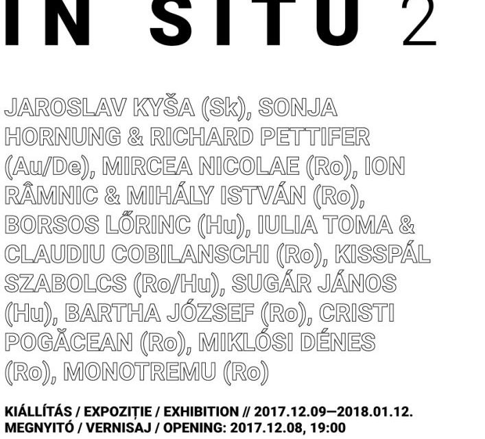 """Expoziție de grup """"In Situ 2"""" @ Spațiul Expozițional de Artă Contemporană MAGMA, Sf. Gheorghe"""
