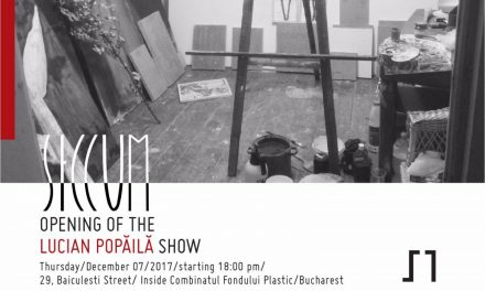 Expoziția SICCUM a lui Lucian Popăilă @ Galeria Sector 1, București