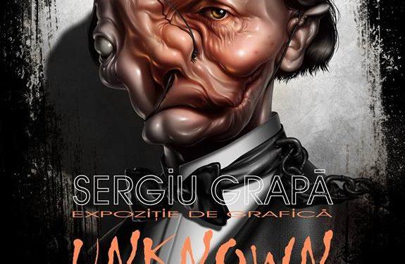 """Sergiu Grapa, """"Unknown"""" @  Galeria de Artă """"Th.Pallady"""", Iași"""