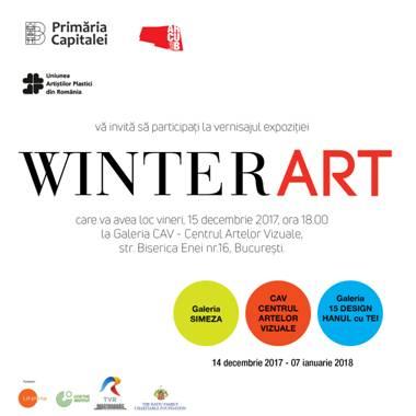 WINTERART – evenimentul cultural al lunii decembrie