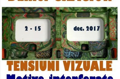"""Daniel Crăciun """"Tensiuni vizuale-motive interferate"""" @ Galeria EricCris Art, București"""