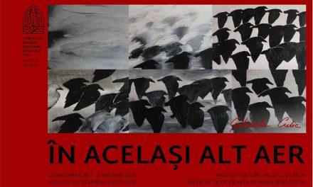 """Gabriela Culic expune """"În același alt aer"""" @ Palatul Culturii din Iași – Muzeul de Artă"""