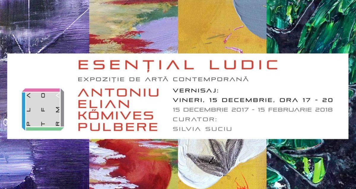 ESENŢIAL LUDIC by PLATFORMA @ Art House Gallery, Cluj-Napoca