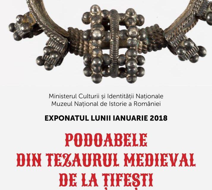 Exponatul lunii ianuarie 2018, la Muzeul Național de Istorie a României: Podoabele din tezaurul medieval de la Țifești