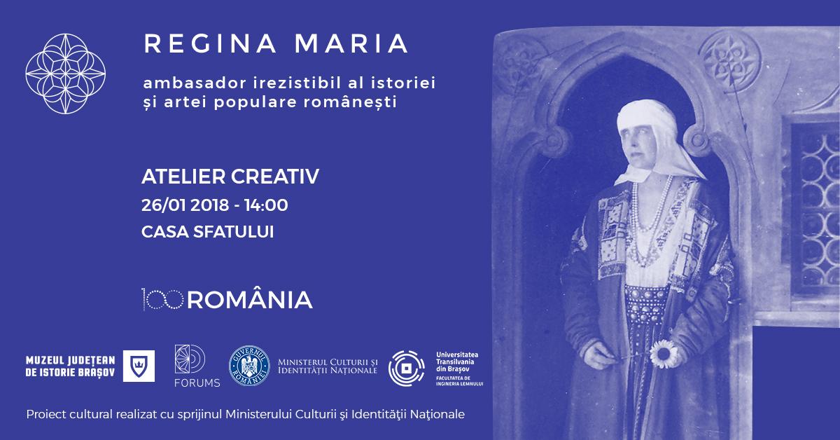 Atelier creativ Regina Maria și arta populară românească