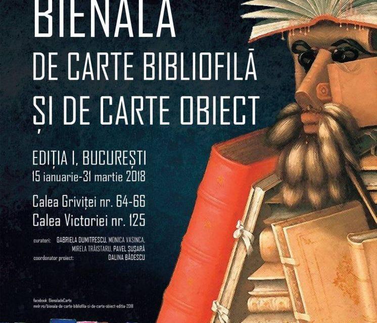 Bienala de Carte Bibliofilă și de Carte-Obiect, ediția I, 2018 @ Muzeul Național al Literaturii Române