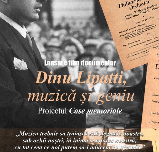 """Lansarea filmului """"Dinu Lipatti, muzică și geniu"""", realizat de Trinitas TV la sediul ICR din București"""