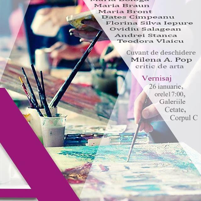 """Expoziţia de arte vizuale """"ALTERNATIVE"""" @ Galeriile Cetate Oradea"""
