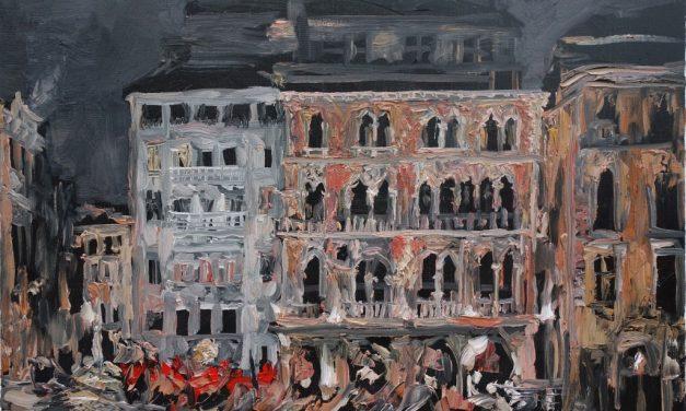 """Expoziţie de pictură de Sorin Scurtulescu """"Alla prima"""" în Noua Galerie a IRCCU Veneţia"""