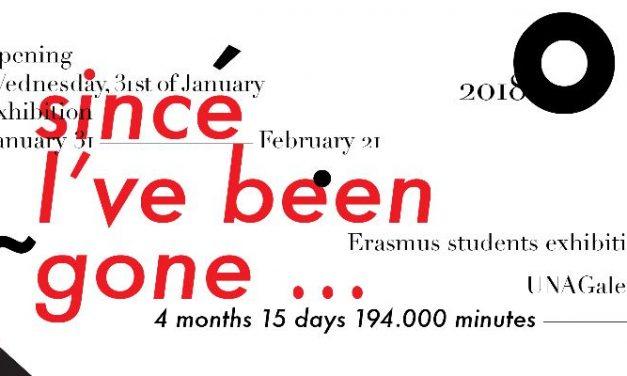 Expoziția studenților Erasmus+ 2017-2018 la UNAGaleria București