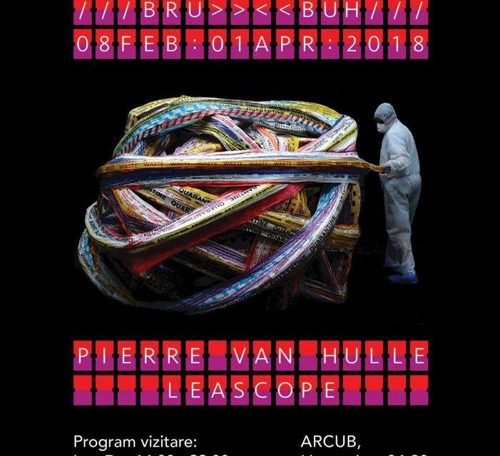 Expoziția PARCURS BRU-BUH la ARCUB