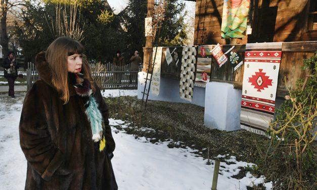 """Joana Vasconcelos, la ICR: """"Învățăm unii de la alții.  Și eu învăț de la cultura și arta românească"""""""