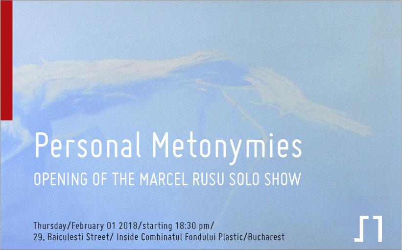 """Expoziție personală Marcel Rusu""""Personal Metonymies"""" @ Galeria Sector 1, București"""